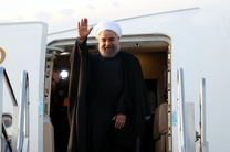رئیس جمهور صبح امروز وارد کرمانشاه شد