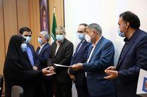 کارکنان نمونه اداری و قضایی دادگستری یزد تقدیر شدند