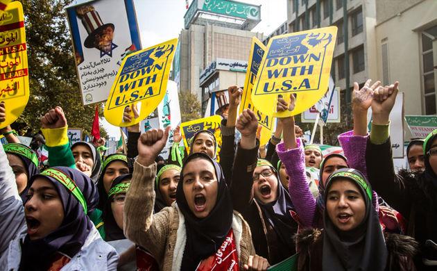 راهپیمایی ۱۳ آبان در اصفهان برگزار شد