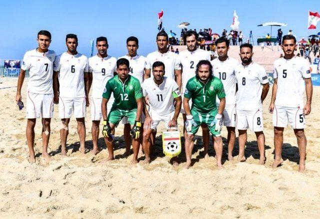 آرزوی اینفانتینو برای تیم ملی فوتبال ساحلی ایران