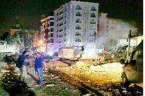 تردد آمبولانس ها در محل انفجار تروریستی در وان ترکیه ادامه دارد