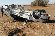 حادثه واژگونی در محور چالوس 4 مصدوم برجای گذاشت