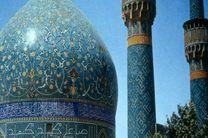 پایان مرمت دو ترک گنبد مدرسه چهارباغ در اصفهان