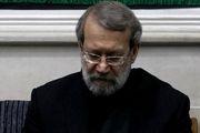 پیام تسلیت لاریجانی به مناسبت درگذشت حجت الاسلام مدرسی