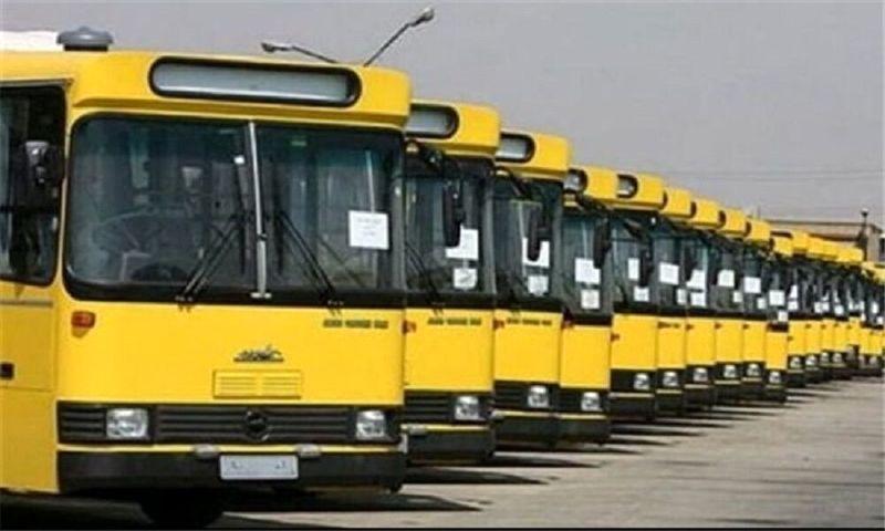 خدمت رسانی اتوبوسرانی به نمازگزاران عید قربان