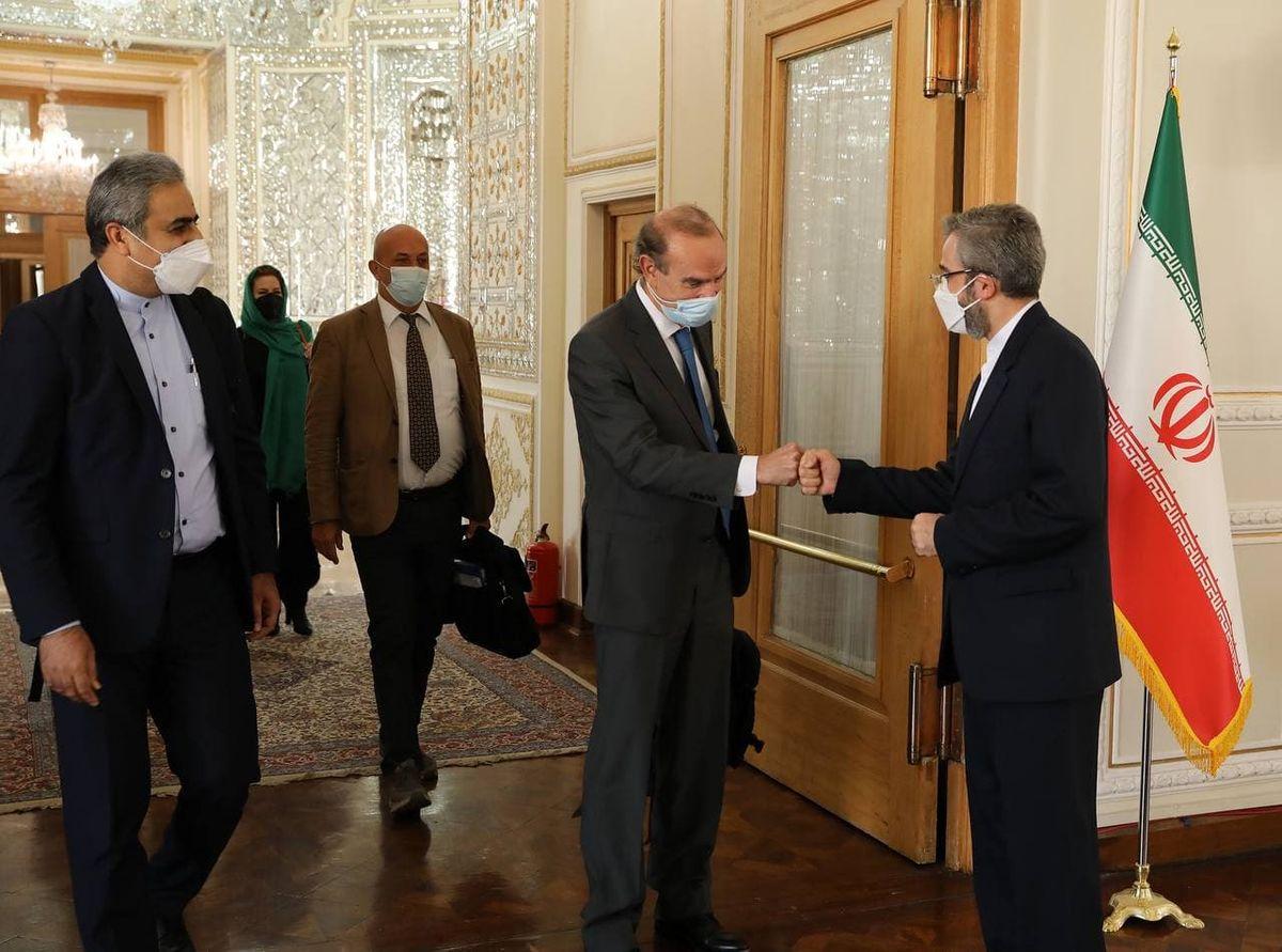 ملاقات علی باقری و معاون اتحادیه اروپا با موضوع برداشتن تحریم ها