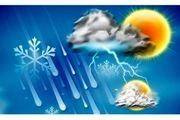 بارش پراکنده و وزش باد شدید در برخی نقاط کشور