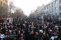حضور چهرههای لشکری و کشوری در مراسم تشییع پیکر پاک سردار سلیمانی