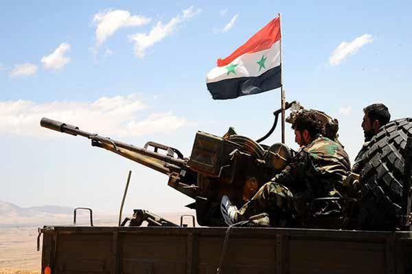 حمله ارتش سوریه به ادلب