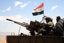 ارتش سوریه به مواضع داعش در جنوب دمشق حمله کرد