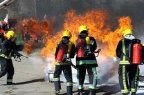 مانور مهار آتش در ابرکوه برای بهبود عملکرد در بحران اجرا شد