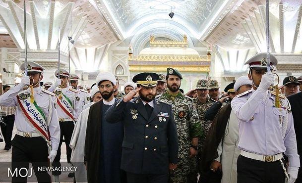 فرماندهان و کارکنان پدافند هوایی با آرمانهای امام راحل تجدید میثاق کردند