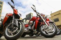 کشف محموله میلیاردی موتور سیکلت قاچاق در هرمزگان
