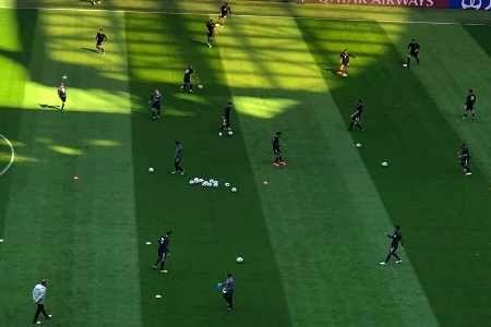 آخرین تمرین تیم ملی فوتبال قبل از بازی مقابل مراکش برگزار شد