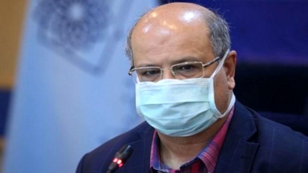 تعداد بیماران بستری ما به علت کرونا در تهران به ۸ هزار و ۳۰۰ تن رسیده است