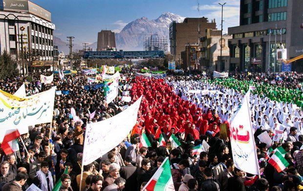 مسیرهای راهپیمایی یومالله 22 بهمن در شهر کرمانشاه اعلام شد