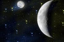 در کره ماه آب وجود ندارد