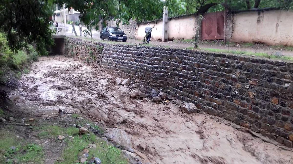 هشدار احتمال جاری شدن سیلاب در ارتفاعات مازندران