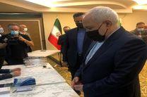 ظریف در آنتالیا رای خود را به صندوق آرا انداخت