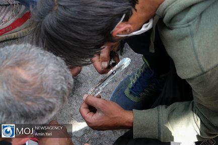 طرح جمع آوری معتادان متجاهر