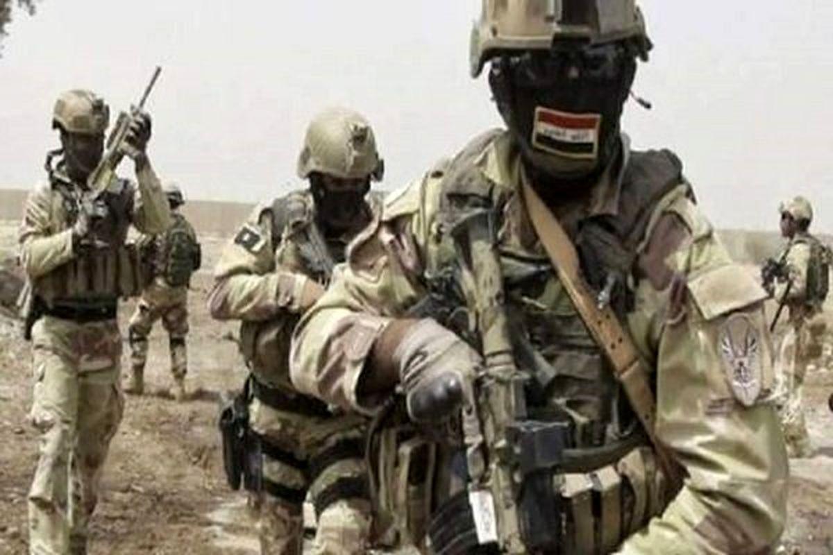 انهدام مخفیگاه تروریستها در استان الانبار