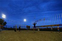 صعود والیبالیستهای ساحلی ایران به جمع 16 تیم برتر تور قطر
