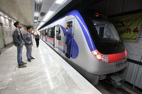 افزایش زمان فعالیت مترو در اصفهان