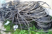 کشف 40 کیلو سیم سرقتی در خمینی شهر