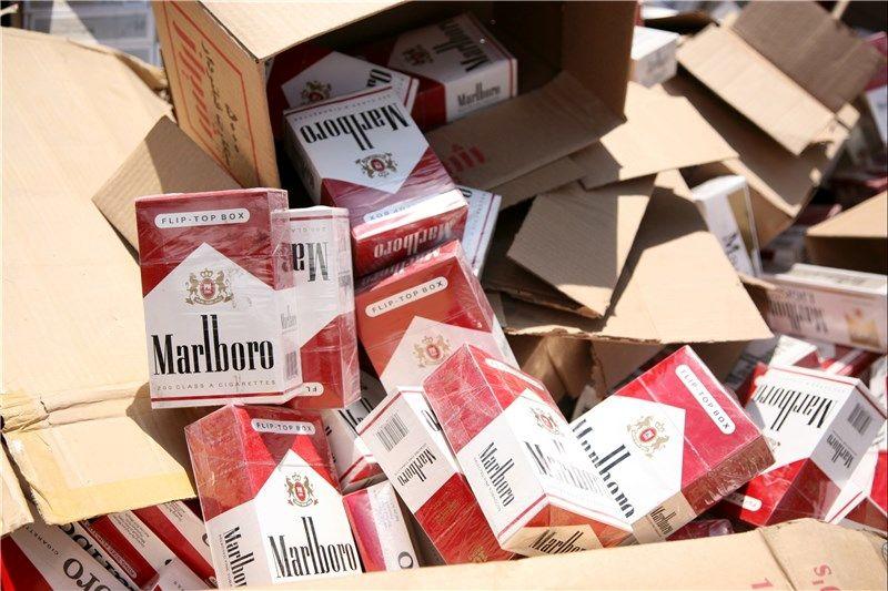 یک میلیون و 645 هزار نخ سیگار خارجی کشف شد