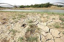 خشکسالی 70 درصد مناطق خوزستان