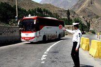 توقیف اتوبوس مسافربری با محموله میلیاردی کالای قاچاق در بوئین و میاندشت