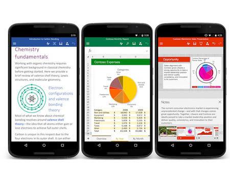 قابلیت جدید مایکروسافت در اپلیکیشنهای موبایلی Word و Excel