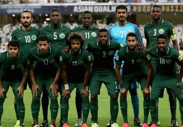 ترکیب نهایی تیم ملی فوتبال عربستان برای جام جهانی 2018