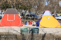ممنوع شدن نصب چادر در باغ فدک اصفهان
