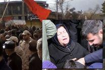 مادر شهید عبدالرضا بروجی درگذشت