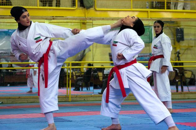 نفرات دعوت شده به اردوی تیم ملی کاراته بانوان