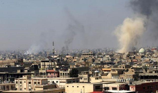 کشته شدن بیش از 90 غیرنظامی در درگیریهای غرب موصل