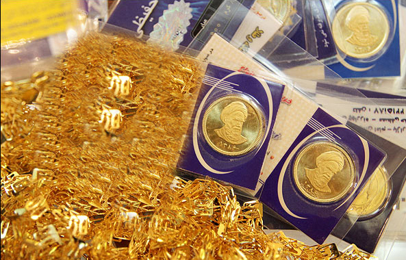 افت قیمت سکه و طلا در بازار رشت