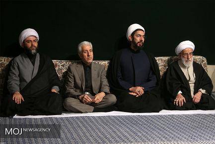 مراسم عزاداری اربعین حسینی(ع) با حضور مقام معظم رهبری