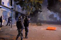 اعتراضات در لبنان 220 مجروح برجا گذاشت