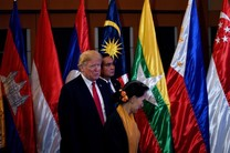 دونالد ترامپ و آنگ سان سوچی