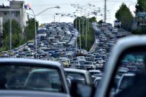 بیشترین تردد جادهای بین ساعات ۱۹ تا ۲۰
