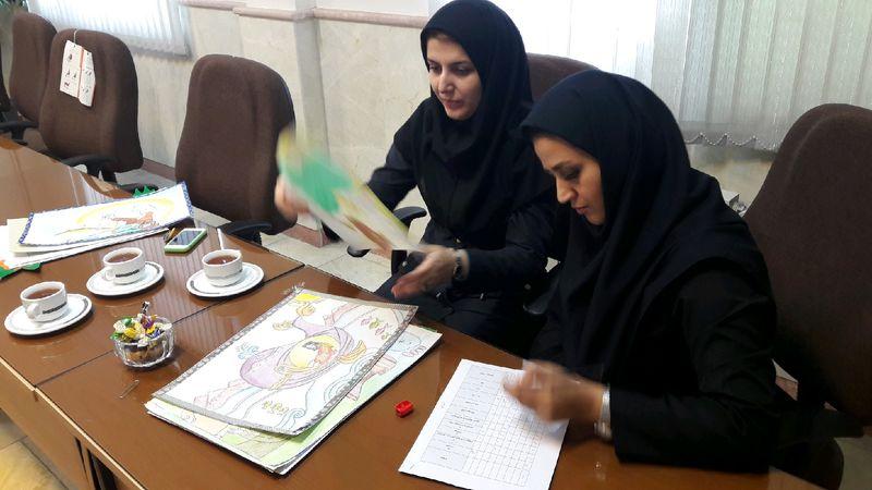 اعلام نتایج مسابقات نقاشی دانش آموزان سما استان گیلان