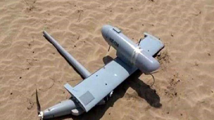 پهپاد جاسوسی ائتلاف عربی در الحدیده منهدم شد
