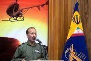 بالگردهای میل ۱۷۱ و ۲۰۵ نیروی زمینی سپاه در فرودگاه اهواز مشغول امدادرسانی هستند