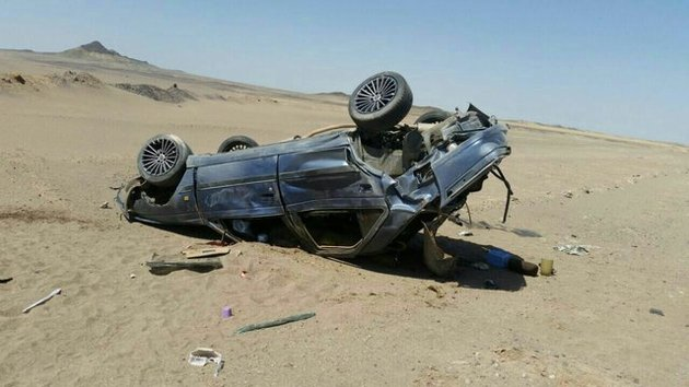 تصادف مرگبار در جاده نهبندان-شهداد