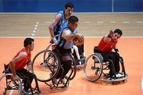 شکست تیم بسکتبال با ویلچر آمل مقابل تیم فیاضبخش مشهد
