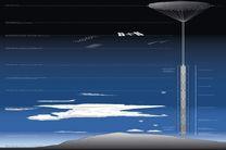 آسمانخراشی متصل به سیارک ساخته می شود