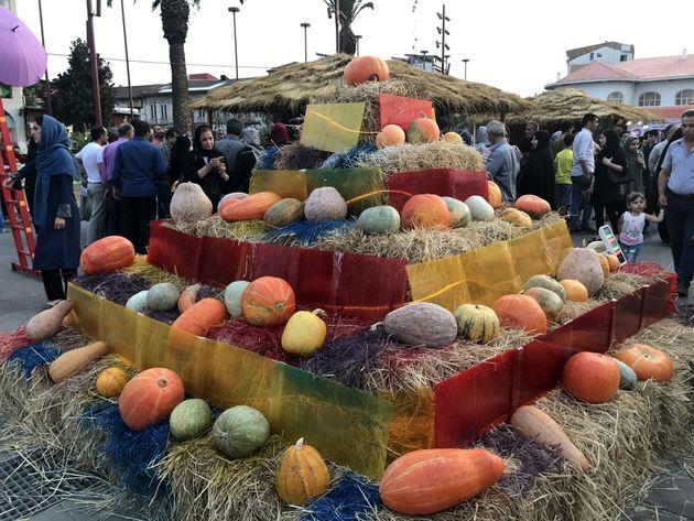 دومین جشنواره کدو در شهر رشت برگزار شد