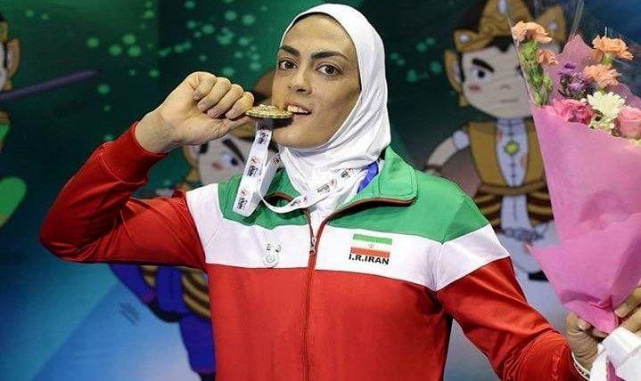 خواهران منصوریان دومین مدال طلای خود در جام جهانی ووشو را کسب کردند